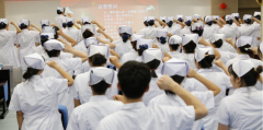乌兰浩特盛津医院举办2019暨授帽仪式